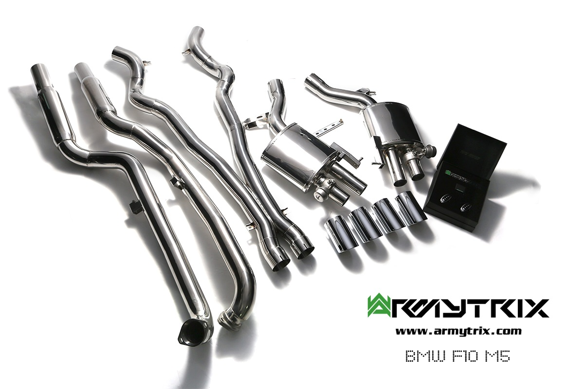 BMW M5 (F10) – CAT-BACK STAINLESS STEEL VALVETRONIC EXHAUST